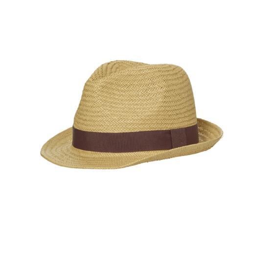 myrtle beach Urban Hat braun/rot