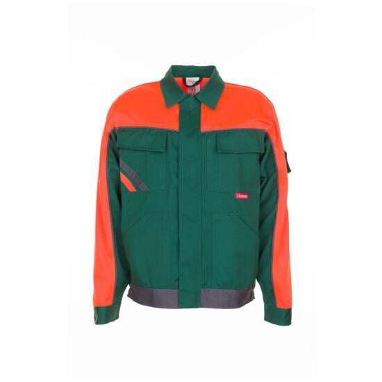 V1 Bundjacke grün/orange/schiefer