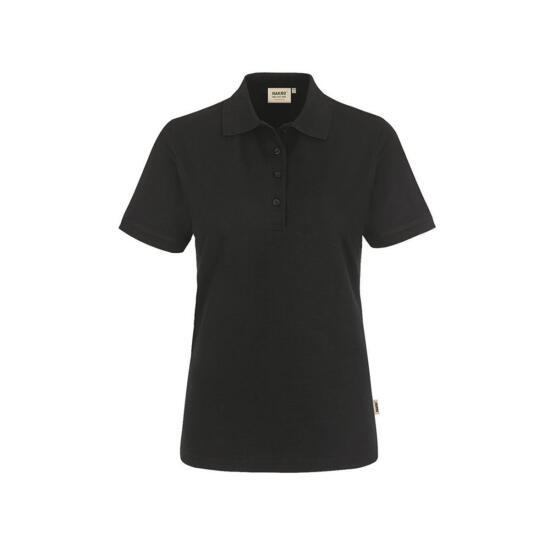 Hakro Damen-Poloshirt Performance schwarz