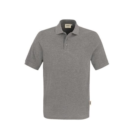 Hakro Poloshirt Classic grau meliert