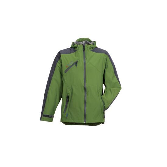 Splash Jacke grün/grau