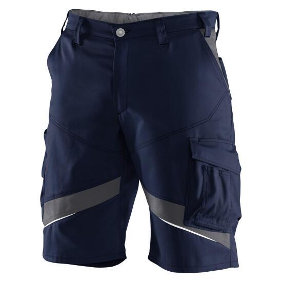 KÜBLER ACTIVIQ Shorts dunkelblau/anthrazit