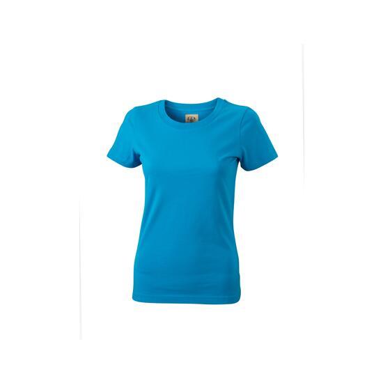 T-Shirt Kurzarm kbl.blau