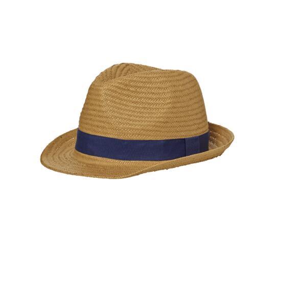 myrtle beach Urban Hat braun/blau