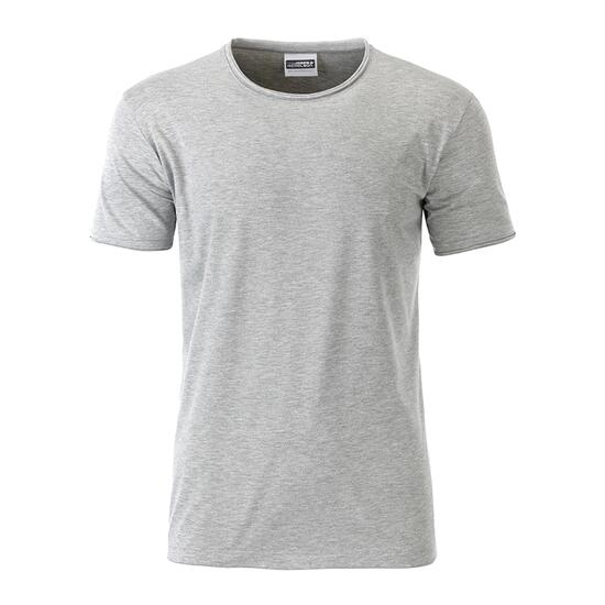 James & Nicholson Mens-T grau