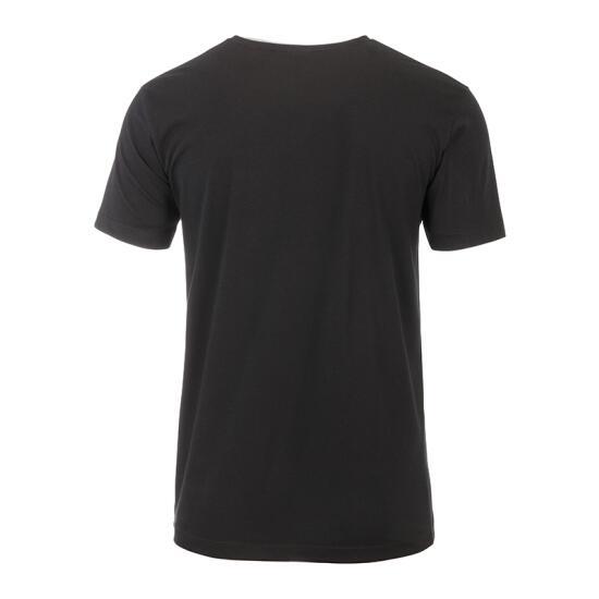 James & Nicholson Mens-T Pocket schwarz