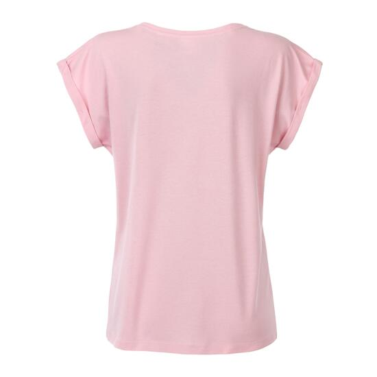 James & Nicholson Ladies Casual-T pink