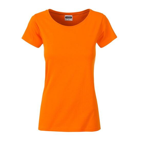 James & Nicholson Ladies Basic-T orange