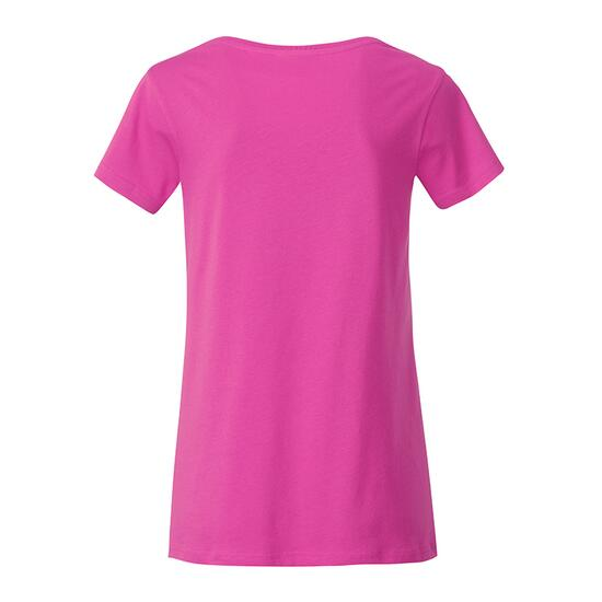 James & Nicholson Ladies Basic-T pink