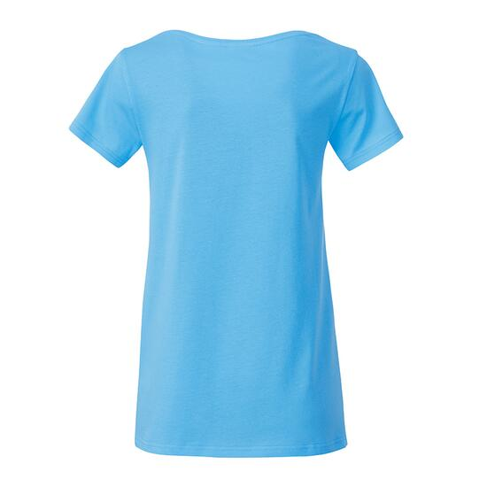 James & Nicholson Ladies Basic-T blau