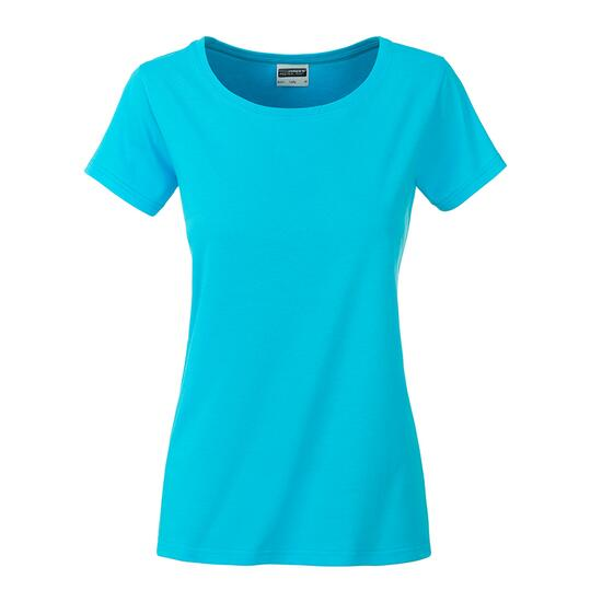 James & Nicholson Ladies Basic-T blau