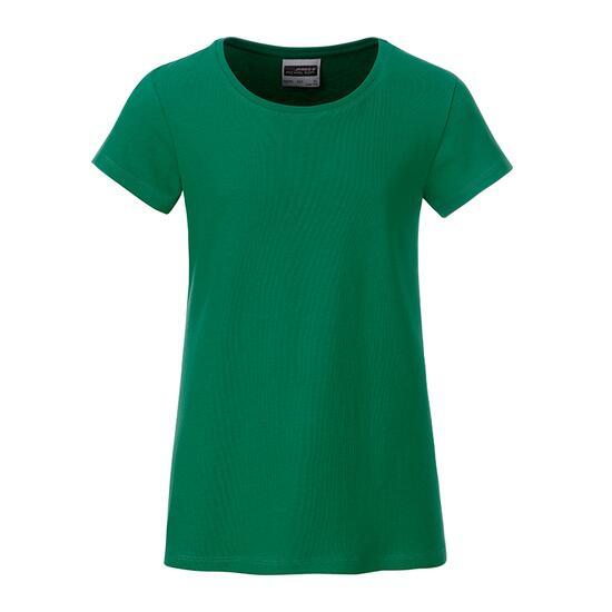 James & Nicholson Girls Basic-T grün