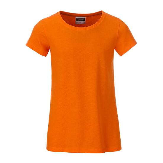 James & Nicholson Girls Basic-T orange