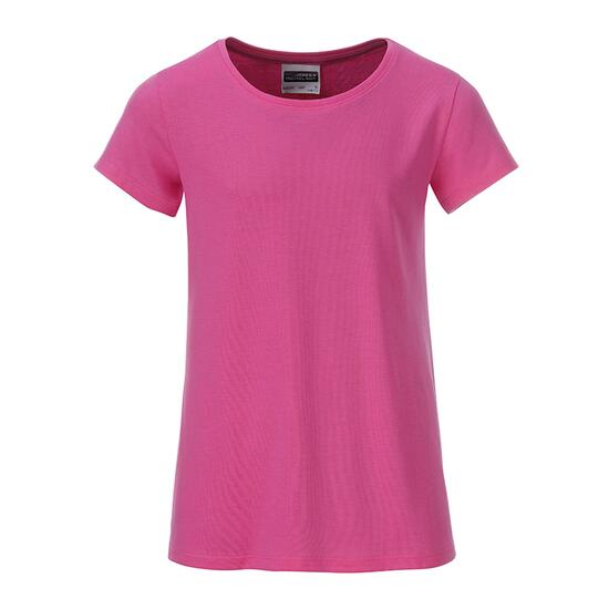 James & Nicholson Girls Basic-T pink