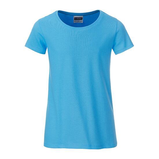 James & Nicholson Girls Basic-T blau