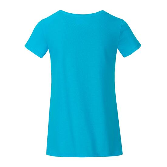 James & Nicholson Girls Basic-T blau