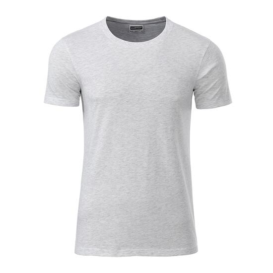 James & Nicholson Mens Basic-T grau