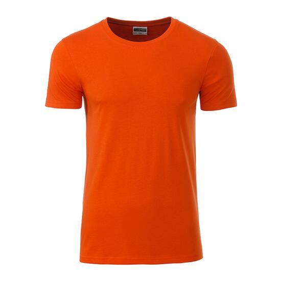 James & Nicholson Mens Basic-T orange