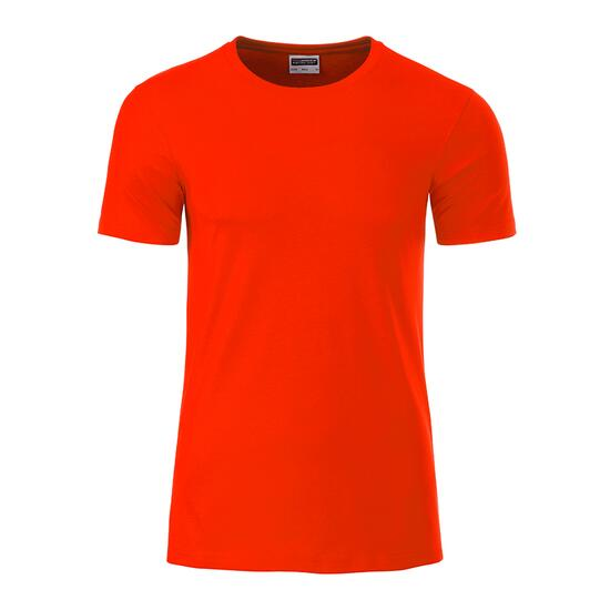 James & Nicholson Mens Basic-T rot