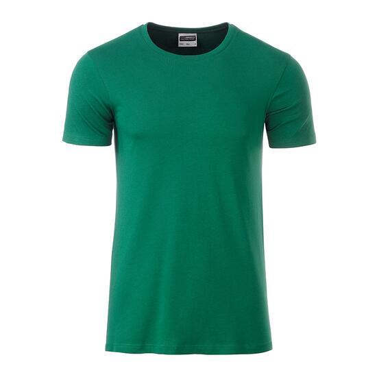 James & Nicholson Mens Basic-T grün