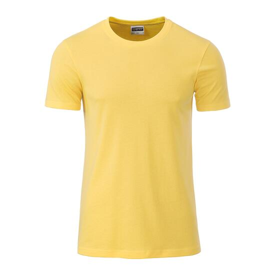 James & Nicholson Mens Basic-T gelb