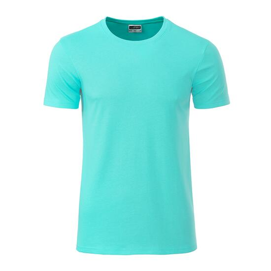 James & Nicholson Mens Basic-T grün