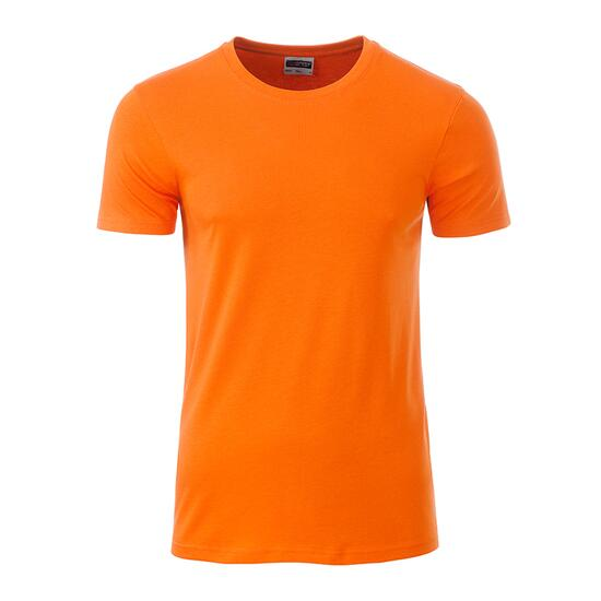 James & Nicholson Mens Basic-T orange