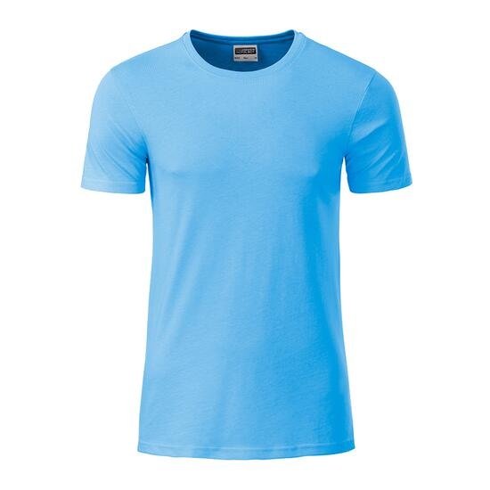 James & Nicholson Mens Basic-T blau