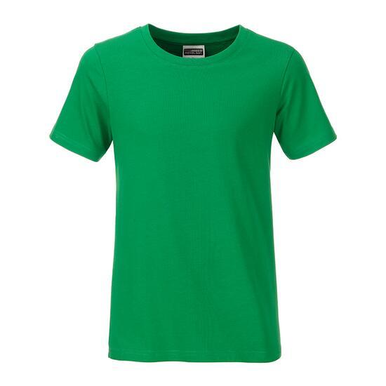 James & Nicholson Boys Basic-T grün