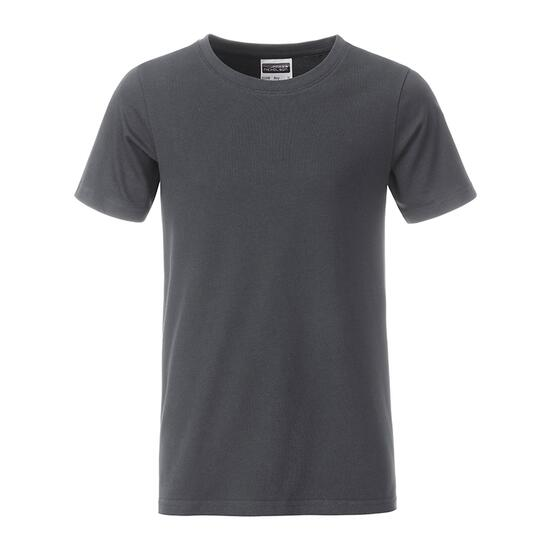 James & Nicholson Boys Basic-T grau