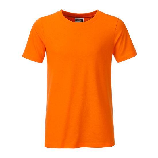 James & Nicholson Boys Basic-T orange