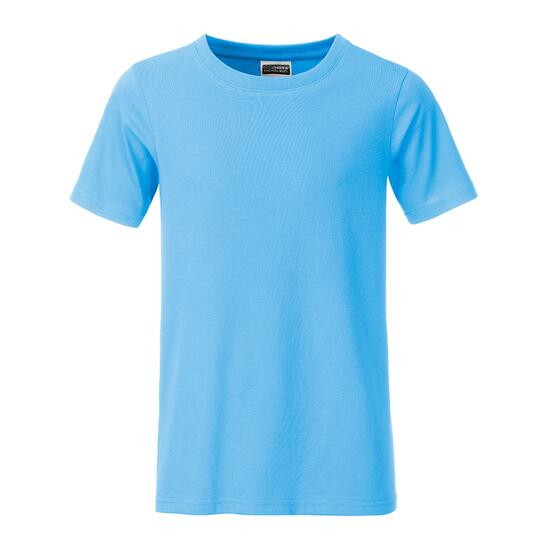 James & Nicholson Boys Basic-T blau