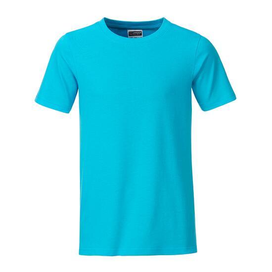 James & Nicholson Boys Basic-T blau