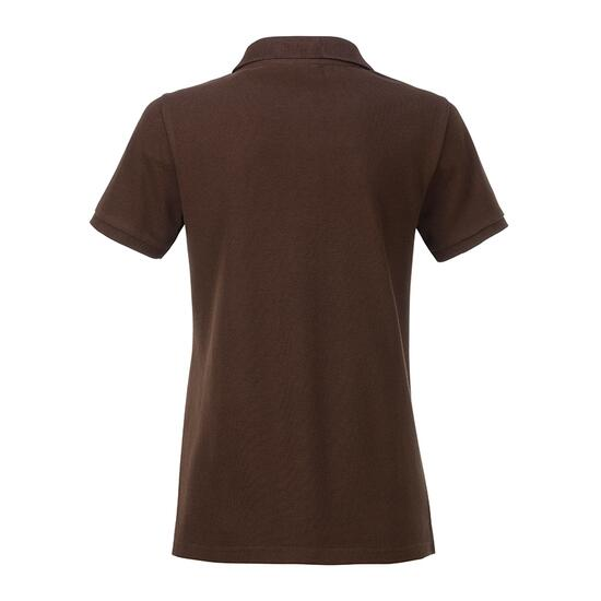 James & Nicholson Ladies Basic Polo braun