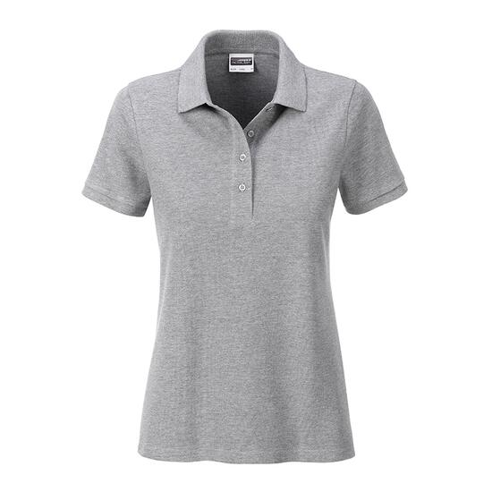 James & Nicholson Ladies Basic Polo grau