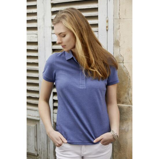 James & Nicholson Ladies Basic Polo grün