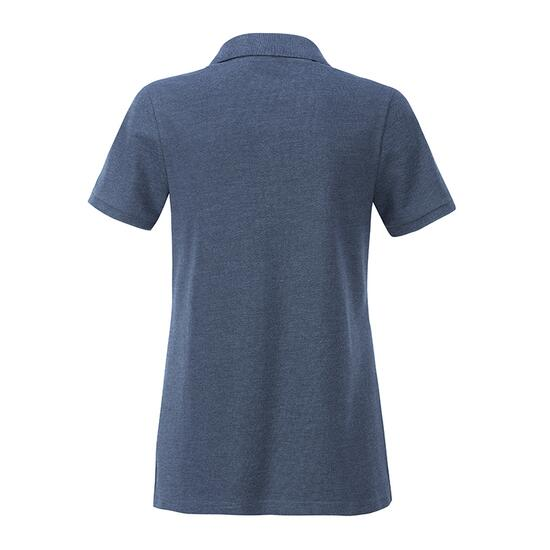James & Nicholson Ladies Basic Polo blau