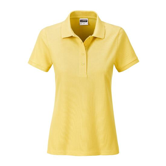 James & Nicholson Ladies Basic Polo gelb