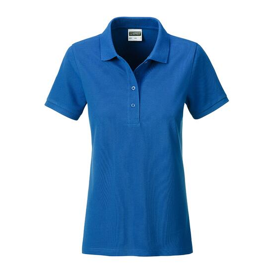 James & Nicholson Ladies Basic Polo blau