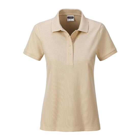 James & Nicholson Ladies Basic Polo braun/grau