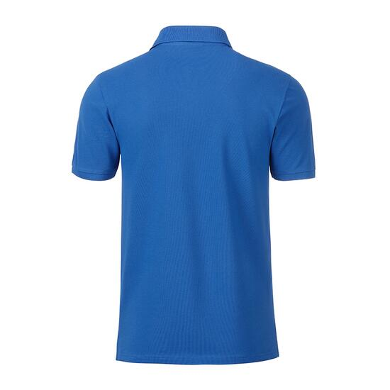 James & Nicholson Mens Basic Polo blau