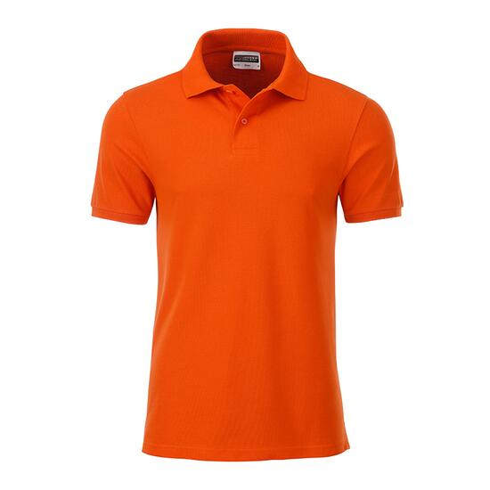 James & Nicholson Mens Basic Polo orange