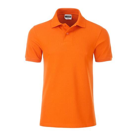 James & Nicholson Mens Basic Polo orange