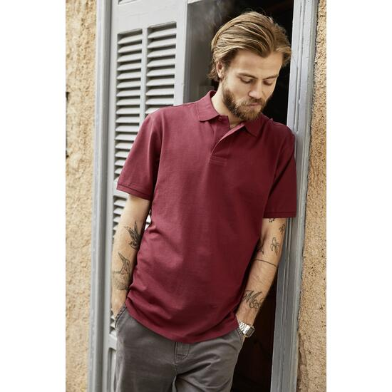 James & Nicholson Mens Basic Polo weiß