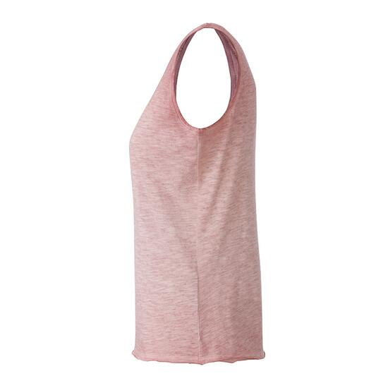 James & Nicholson Ladies Slub-Top pink