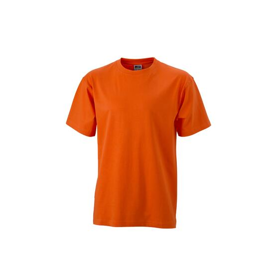 James & Nicholson Round-T Heavy (180g/m²) dark-orange