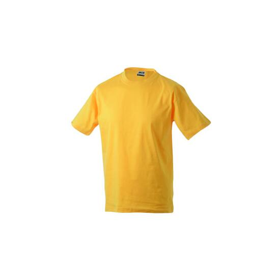 James & Nicholson Round-T Heavy (180g/m²) gold-yellow