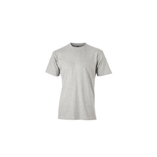 James & Nicholson Round-T Heavy (180g/m²) grey-heather