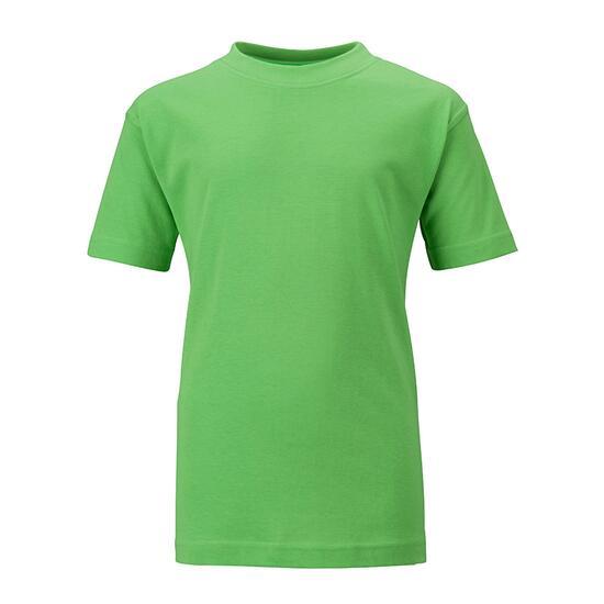 James & Nicholson Junior Basic-T grün