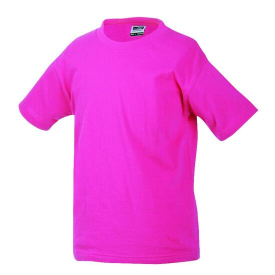 James & Nicholson Junior Basic-T pink